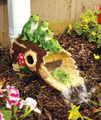 Frog Downspout Water Slide