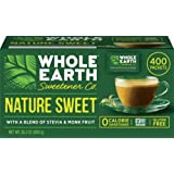 Whole Earth Nature Sweet with a Blend of Stevia & Monk Fruit 28.2 oz 400 Packets