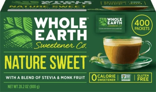 Whole Earth Sweetener Company Nature Sweet Blend of Stevia & Monk Fruit