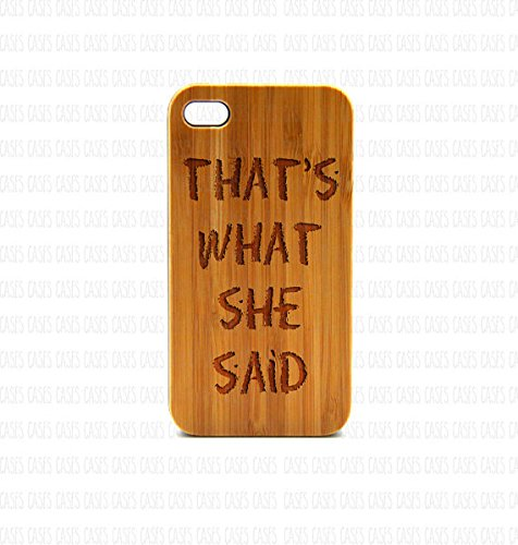 Krezy Case Real Wood iPhone 6 Plus Case, that's what she said iPhone 6 Plus Case, Wood iPhone 6 Plus Case, Wood iPhone Case,