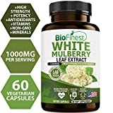 Biofinest White Mulberry Leaf Extract 1000mg (Morus Alba) - Zuccarin Diet - Antioxidants