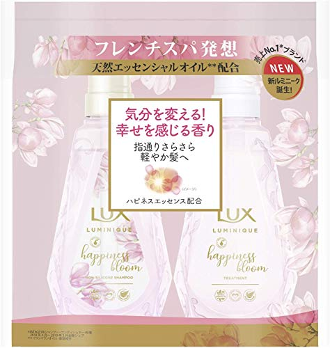 LUX Luminique Happiness Bloom Shampoo 450g + Conditioner 450g