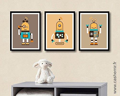 Illustrations pour chambre d\'enfant affiche poster bébé garçon ...