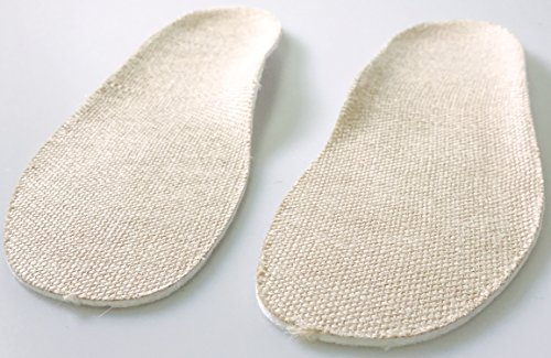 Organic Hemp Insoles (Regular) - Wn 9 | Mn 7 (40) -Natural