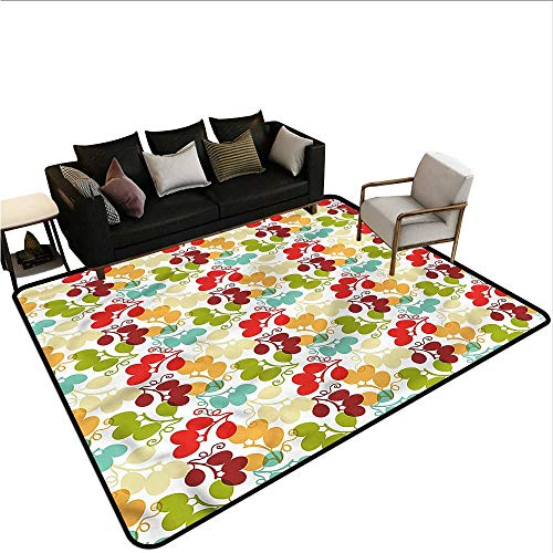 Vineyard,Front Mat Home Decorative Carpet 36