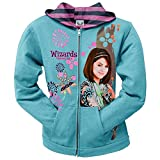 Wizards Of Waverly Place - Flower Stamp Girls Youth Zip Hood