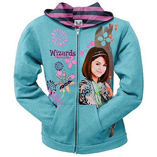 wizards-of-waverly-place-flower-stamp-girls-youth-zip-hoodie-x-large