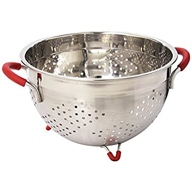 Weston Stainless Steel Colander, 5.5-Quart