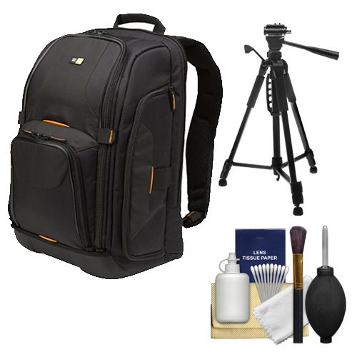 Case Logic Digital SLR Camera Backpack Case   with Tripod +