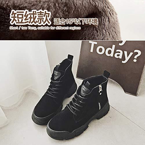 Martin Stiefel Choo Stiefel weiblichen weiblich Englisch die Studierenden Scrub Stiefel Stiefel Scrub dick 30bf9a