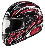 HJC CL-MAXBT II Atomic Bluetooth Modular Motorcycle Helmet (MC-1, Large)