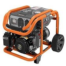 RIDGID 3,600-Watt Subaru 211 cc Gasoline Powered Portable Generator