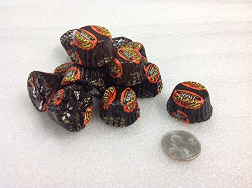 Dark Chocolate Reese's Peanut Butter Cups Mini 1 pound foil wrapped