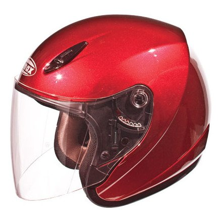 GMax GM17 Open Face Helmet - Small/Candy Red