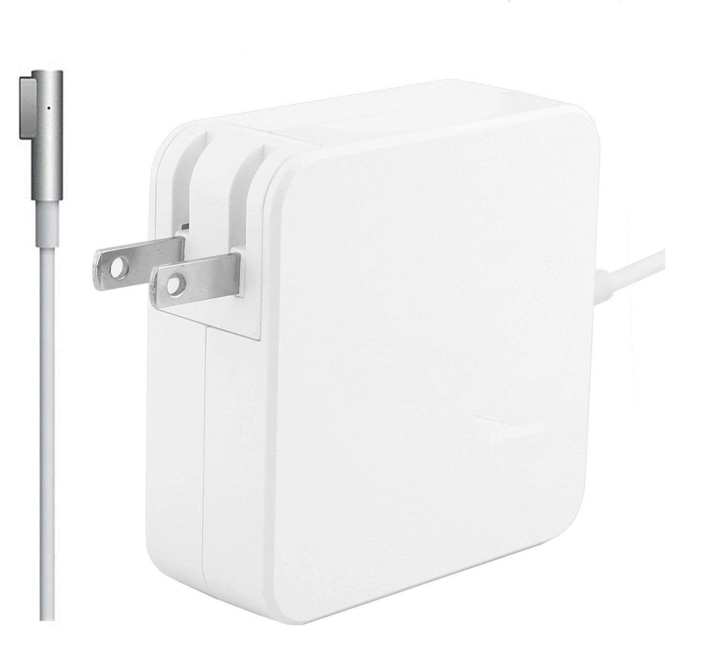 Mac Book Pro Charger, Replacement 60W L-Tip Magsafe 1 Power Adapter Charger for Mac Book and 13-inch Mac Book Pro (Before Mid 2012 Models)