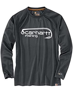 Men's 103001 Force Fishing Hook Long Sleeve T-Shirt