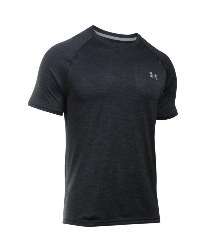 Under Armour Men's Tech Short Sleeve T-Shirt, Black /Steel, XXX-Large by Under Armour (Image #4)