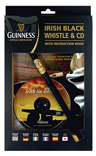 Guinness Irish Tin Whistle with Book & CD ()
