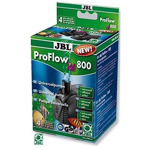 JBL 6058300 Universalpumpe mit 900 l/h zur Umwälzung von Wasser in Aquarien und Terrarien, ProFlow u800, 60583