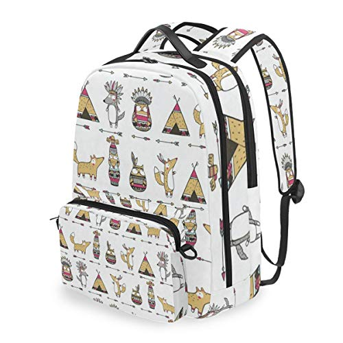 Laptop Backpack Cute Cartoon Animal Cosmetic Bag Pouch Detachable Back pack