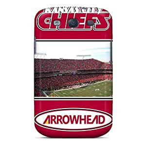 Jamesler WtY239aARM Case For Galaxy S3 With Nice Kansas City Chiefs Appearance