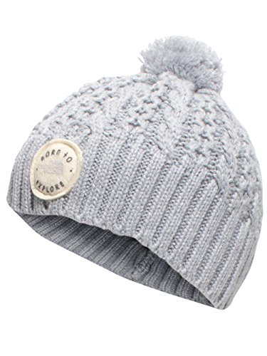Baby Phat Cap - The North Face Baby Minna Beanie The North Face Light Grey Heather X-Small