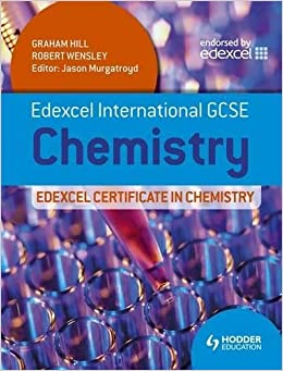 Book Edexcel International GCSE and Certificate Chemistry Student's Book & CD