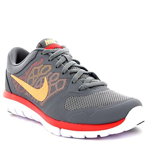 Nike Womens Flex 2015 Lightweight Low Top Walking Running Sneakers - Gray - 6.5
