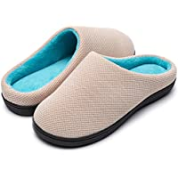 RockDove Women's Birdseye Knit Memory Foam Slipper