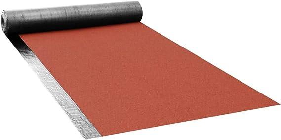 vidaXL - Tela de asfalto de betún para tejado V60 S4, 1 rollo de 5 m², fibra de vidrio de betún: Amazon.es: Bricolaje y herramientas