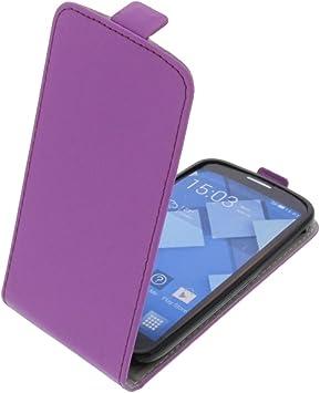 foto-kontor Funda para Alcatel One Touch Pop C7 Protectora Tipo Flip para móvil Lila: Amazon.es: Electrónica