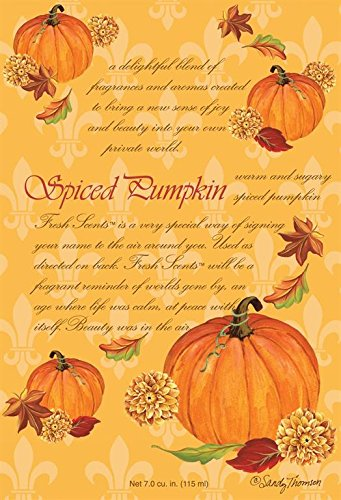 Fresh Scents Scented Sachets - Spiced Pumpkin, Lot of 6 FS200220