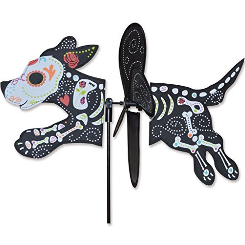 Petite Spinner - Day Of Dead Zombie Dog by Premier Kites
