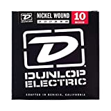 Dunlop DEN1046 Nickel Wound Electric Guitar Strings, Medium, .010–.046, 6 Strings/Set