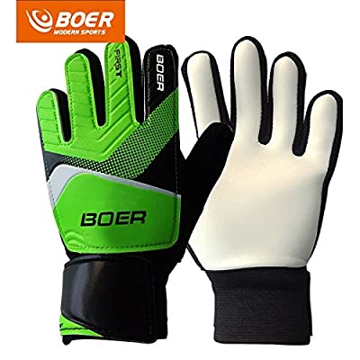 5-7# Children Kids Youth Football Soccer Goalkeeper Goalie Training Gloves Gear