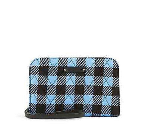 Vera Bradley Zip Around Wristlet/Wallet Clutch in Alpine Check