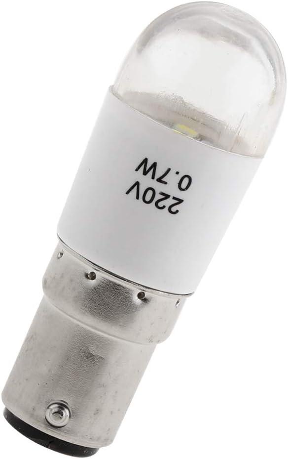 Baoblaze 2Pcs Ersatzgl/ühbirne f/ür N/ähmaschine Gl/ühbirne f/ür N/ähmaschinen-Lampe Dr/ücken In 220 V 0,7 Watt