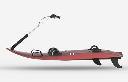 De fibra de carbono motorizado tabla de surf, 6 pies, combustible de corriente,