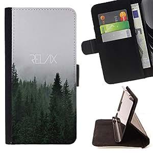 Dragon Case- Caja de la carpeta del caso en folio de cuero del tir¨®n de la cubierta protectora Shell FOR Apple iPhone 6 6S 4.7 - Relax