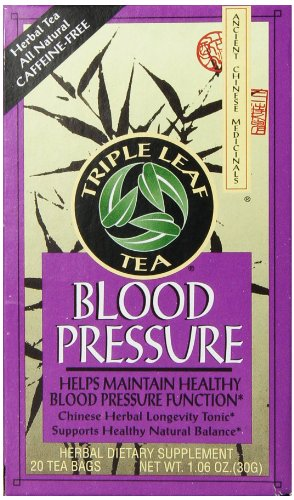 Triple Leaf Blood Pressure Tea Bags - 20 ct