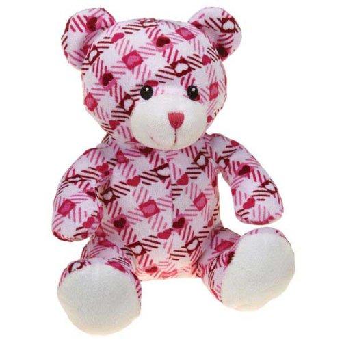Cheap Zanies Kiss N' Cuddle Bear Dog Toy, Plaid