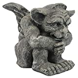 Design Toscano CL0883 Emmett The Gargoyle Gothic Decor Statue, Small 10 Inch, Single