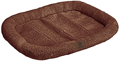 Image of American Kennel Club Crate Mat, 24 by 17-Inch, Brown