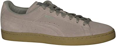 Puma Men's Suede Classic Fashion Sneakers Vetiver/Vetiver 9.5 D(M) US