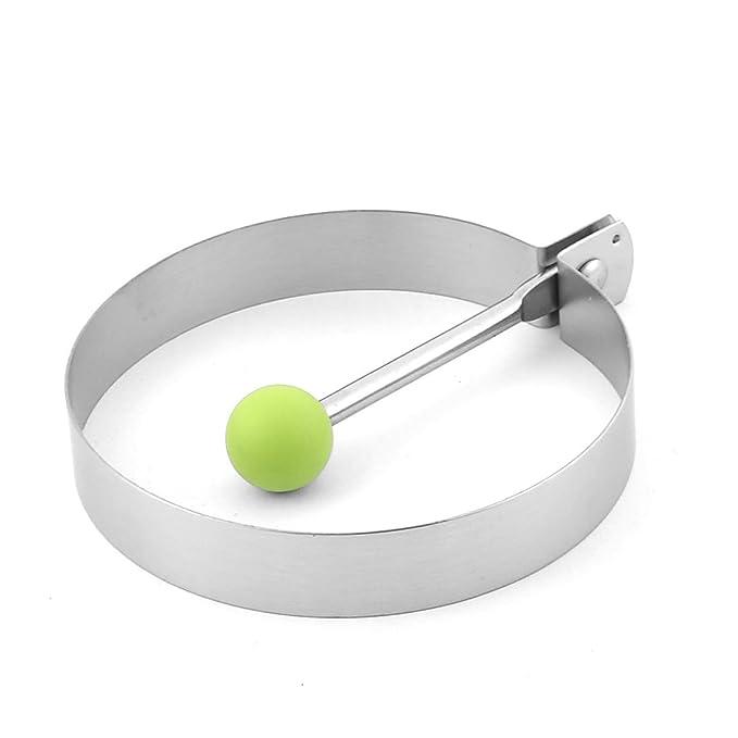 Amazon.com: DealMux Cozinha Pancake forma redonda Frying Ovo molde do anel Cooking Shaper: Kitchen & Dining