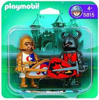 PLAYMOBIL Duo Pack Caballeros Medievales: Amazon.es: Juguetes y juegos