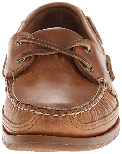 Sebago Mens Schooner Classic Moccasin Shoes B759434 Cognac Leather Cognac Leather