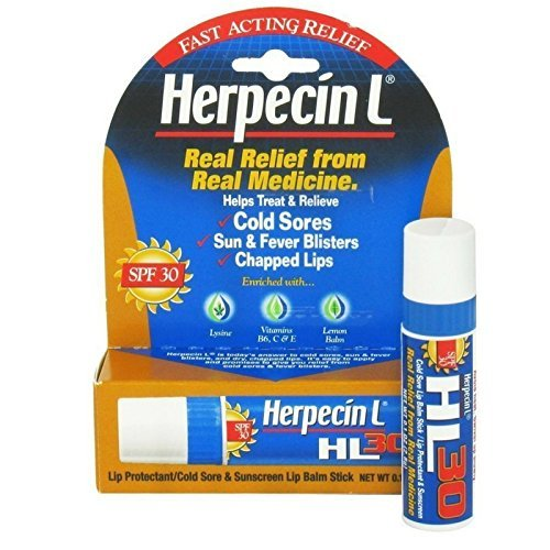 Herpecin L Lip Protectant SPF 30 0.10 oz ( Pack of 3) Herpecin-L