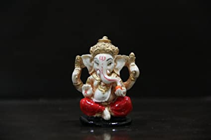 Venus Creation Antique Ganesha Idol For Car Dashboard Home Decor Gifting Size 1 5 Inches Color Assorted Code Vag01