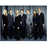 Boston Legal 8 x 10 Photo Boston Legal Cast Photo All Standing Grey Carpet Grey Wall All Corners kn